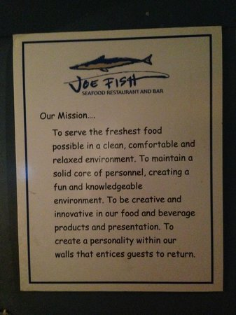 The Mission Joe Fish Seafood Restaurant Bar 1120 Osgood St North Andover
