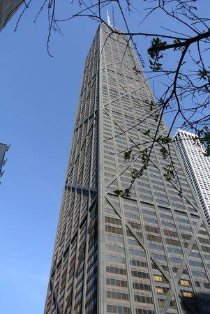 InterContinental Chicago Magnificent Mile: John Hancock Ctr. skyscraper