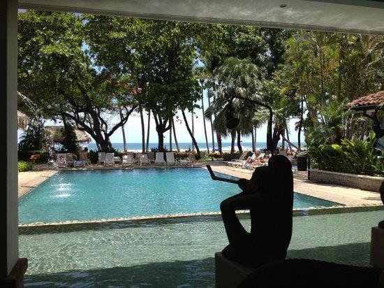 Hotel Tamarindo Diria: The reception