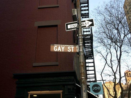 Acogedora casa colonial en Chelsea, el barrio gay de Nueva