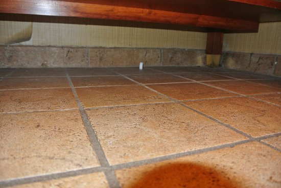 Embassy Suites by Hilton Columbia - Greystone : Crumbs probably just swept under the cabinet