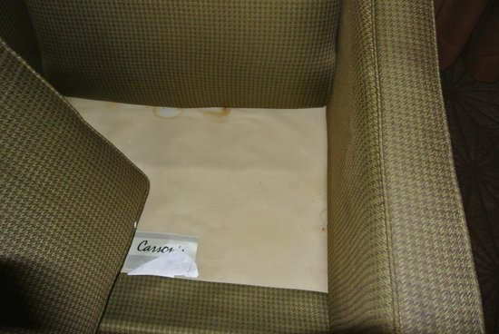 Embassy Suites by Hilton Columbia - Greystone : Disgusting furniture