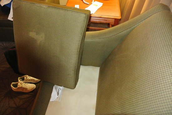 Embassy Suites by Hilton Columbia - Greystone : More nasty furniture