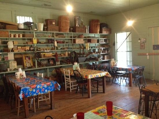 Lone Star Barbecue & Mercantile: one of the dining rooms