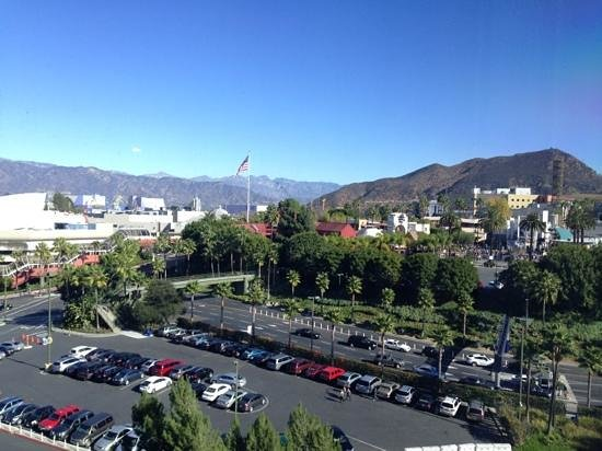 Hilton Los Angeles/Universal City : view from the room