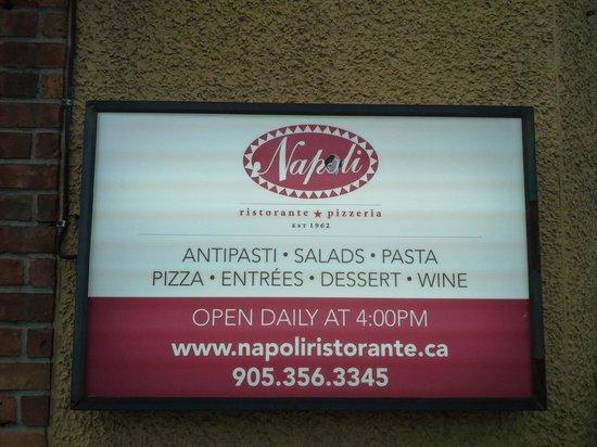 Napoli Ristorante & Pizzeria: exterior