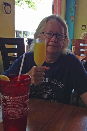 The Lost Parrot : Free mimosas on Mom's Day