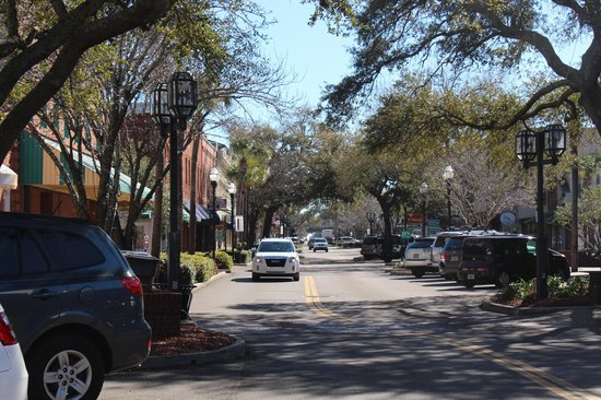 Centre St Downtown Fernandina Beach Picture of Brett s Waterway