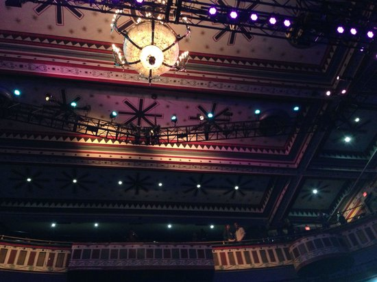 Ceiling At The Tabernacle