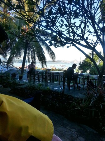 Gardena Hotel : Nice view to harbour