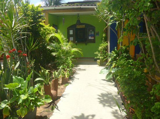 Albergue da Costa Hostel : Recepcion