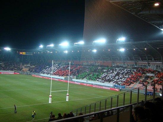 le stade des Alpes : Jogo Rugbi