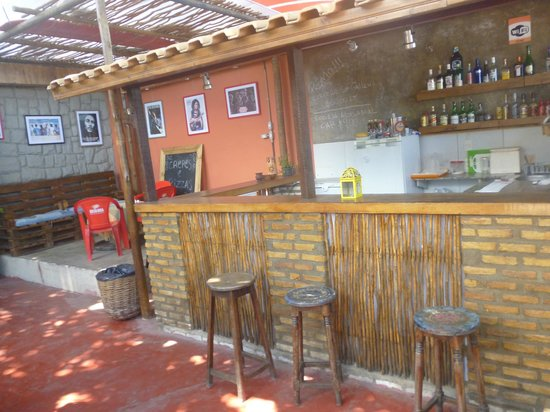 Albergue da Costa Hostel : Bar