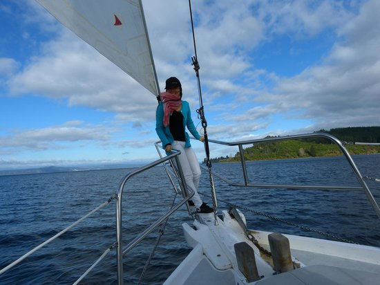 Sail Barbary: All's good early on in the trip