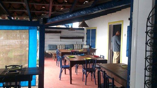 Restaurante Peixe Vivo : Área das mesas externa