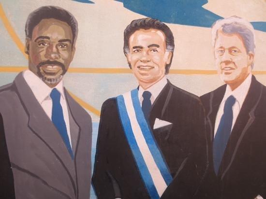 Domino Park: mural