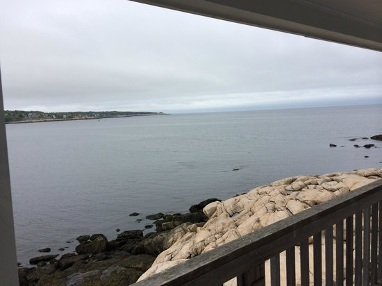 Bearskin Neck Motor Lodge: View from our room