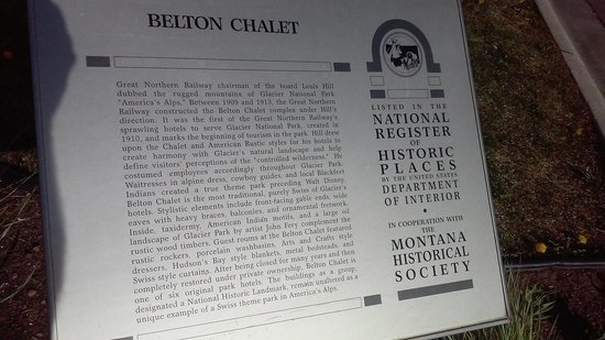 Belton Chalet: history of the place.