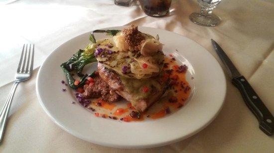 Belton Chalet : Pork Chops for dinner! AMAZING!!