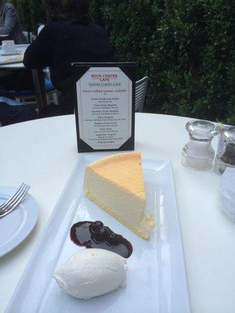 Rock Center Cafe: New York Cheese Cake