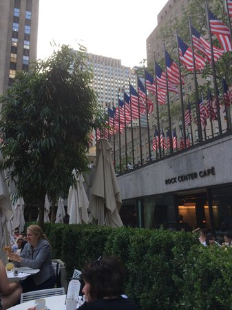 Rock Center Cafe: View