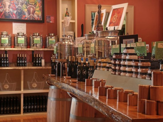 Saratoga Olive Oil Company: Taste Over 75 Flavors of Olive Oil, Balsamic and Sea Salts