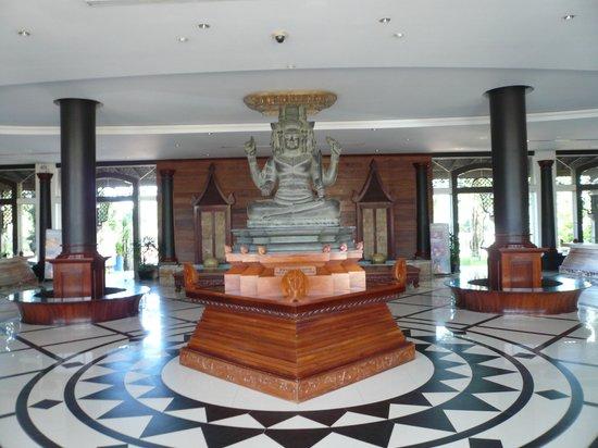 Pacific Hotel & Spa : ホテルのロビー