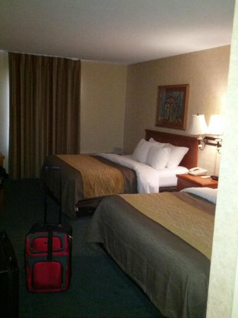 Comfort Inn Monticello: 2 Double beds