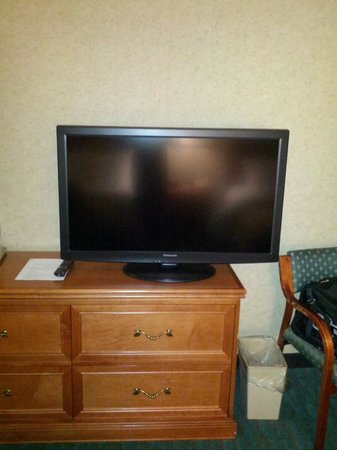 Comfort Inn Monticello : Flatscreens in room