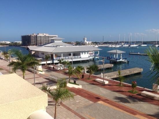 Hotel Meliá Marina Varadero: vue sur la marina