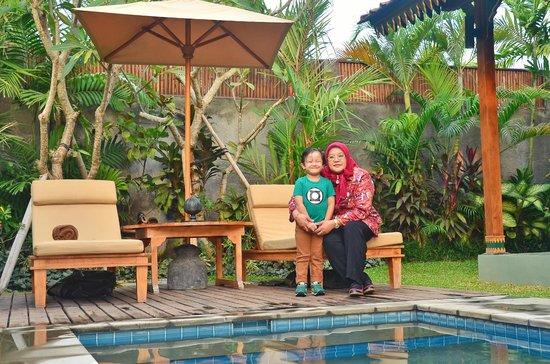 Villa Berawa : Pool Area