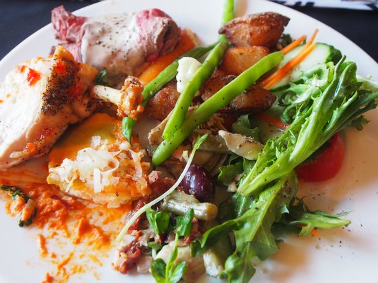 The Ivy Restaurant: Delcious plate of food