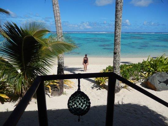 Rarotonga Beach Bungalows: View from your deck