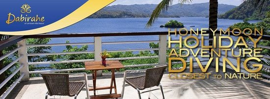 DABIRAHE Dive, Spa and Leisure Resort (Lembeh): Holiday, Honeymoon, Scuba Diving in Lembeh