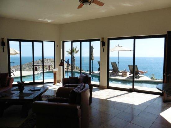 Arriba de la Roca: View from lounge/kitchen area