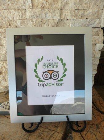 Arriba de la Roca: Trip Advisor Award