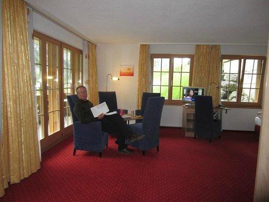 Hotel Silberhorn: Room 61