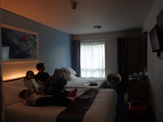 Travelodge London Vauxhall Hotel: Comfy!