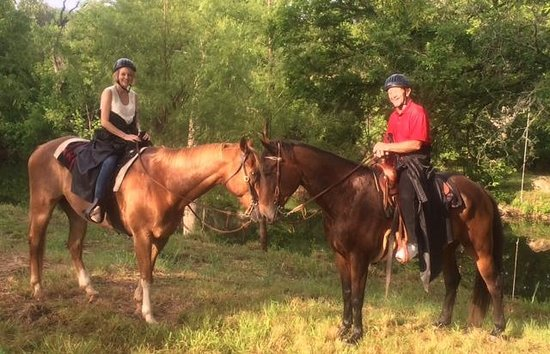 "Texas Trail Rides: ""Horseing Around"""