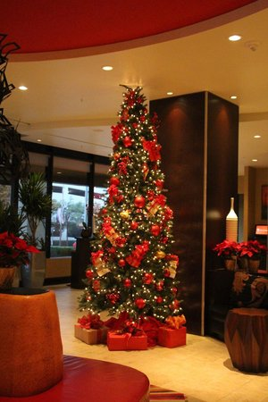 Dallas Marriott City Center: Lobby at Christmas