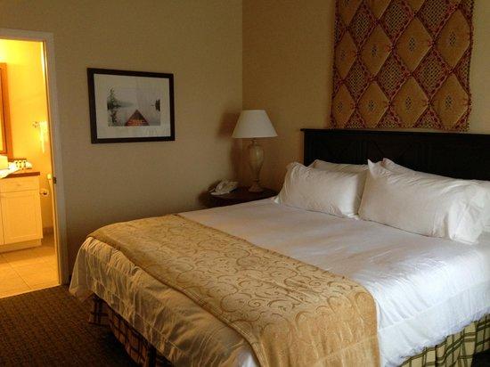 Marriott's Willow Ridge Lodge : Master bedroom