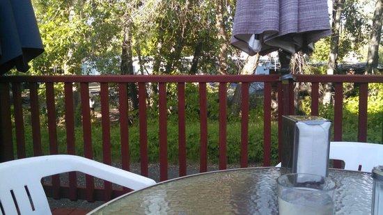 Squeeze-In Restaurant & Deck: Patio view