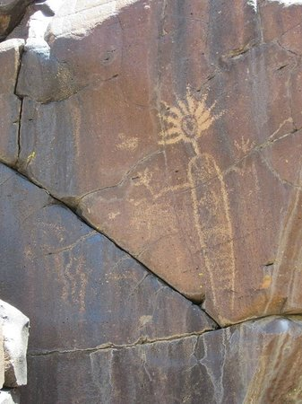Little Petroglyph Canyon : Shaman