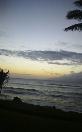 Noelani Condominium Resort : Beautiful sunset from the lanai!