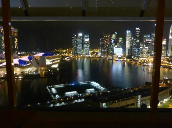 The Ritz-Carlton, Millenia Singapore : city view from the room
