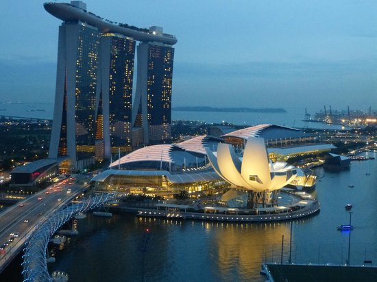 The Ritz-Carlton, Millenia Singapore: View from room