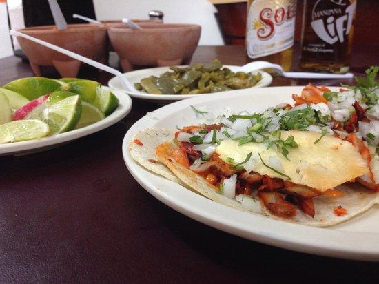 Taqueria El Fogon: Tacos al pastor