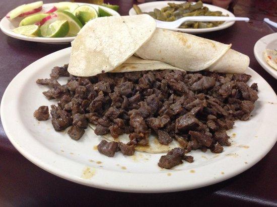 Taqueria El Fogon: Carne azada