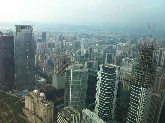 Four Seasons Hotel Guangzhou : Views from the Premier Room