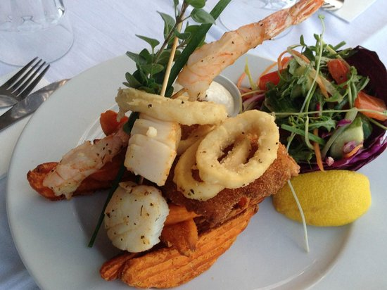 The Rustic Olive: Yummy Seafood